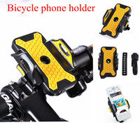 Wholesale Cycling Bike Bicycle Phone Holder adjustable Width Bicycle Bracket Antiskid Phone case Support for iphone s s plus samsung s6 s7