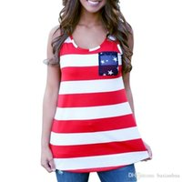Women Tank Top Geometric 2016 NEW Summer Sexy Women Sleeveless Tops American USA Flag Print Stripes Tank Top for Woman Blouse Vest Shirt free shipping
