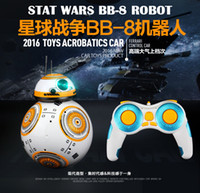 Wholesale Star Wars RC BB Robot Star Wars G remote control BB robot intelligent small ball Action Figure Toys Christmas Gift