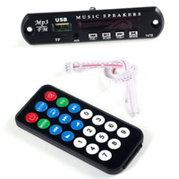 Wholesale Sound card Car MP3 WMA Decoder Board V Wireless Audio Module USB TF Radio Multipurpose usb radio FM