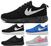black flats women - Cheap Original Run Running Shoes Women and Men black white Runings Runing Shoe Athletic Outdoor Sneakers one Size36