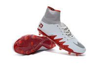 Wholesale New Neymar mixture high top FG soccer shoes Hypervenom Phantom II Football cleats sports shoe Futbol boots original