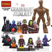 Wholesale DC Marvel Action Toy Figures SY Blocks VS Decool Minifigures Building Blocks Heroes Assemble Super Heroes Justice League X Men