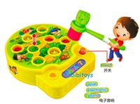 baby moles - Baby toy Whac A Mole Mole Hamster Attack Poke A Mole Electronic Plastic Kids Game Toy cool gift for child baby