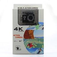 Wholesale sj4000 wifi Action Camera K fps Gopro hero Style inch LCD Screen Wifi MP Waterproof P full HD pfs Sport Camera free DHL