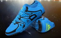 Wholesale Soccer Shoes Indoor Men Sports Training Shoes Breathable Shock Absorption Football Shoes Size