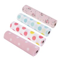 Wholesale Drawer Paper Plastic Printed Wallpaper Colorful Waterproof Mat Wardrobe Kitchen Cabinet Pad For All Purpose Multi Colors