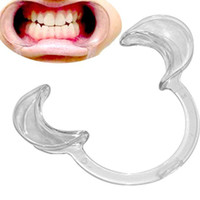 Wholesale C Type Autoclavable Dental Mouth Opener Teeth Whitening Cheek Retractors Game Lip Retractors Dentistry for Speak Out Game Mouthpiece