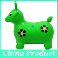 Wholesale New arrival thickening jumping deer cow jumping horse toy inflatable toy sports toy outdoor fun sports toycity