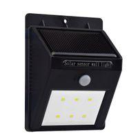 achat en gros de boutons de manchette en soie-Solar Powered Sensor Lampes murales d'économie d'énergie solaire LED Panel lampe SL-810A Pour Extérieur Aménagement du pont de jardin Jardin Accueil Escaliers Chemin