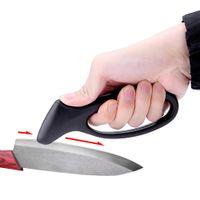 Wholesale Pocket Afiador De Faca Portable Sharpener Carbide Home Household Handhled Sharpening Stone for Kitchen Knives Tool