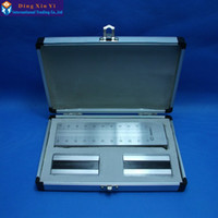 Wholesale um Stainless Steel single Groove fineness gage um um um um available Hegman fineness gauge