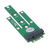 Wholesale 1Pcs NGFF M2 B SATA Based Solid State Drives to MSATA Adapter Converter Card for Windows