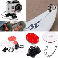 Wholesale GoPro Tether Kit Surfboard Set Skiing Snowboarding Surfing Mount Go Pro Surf Pack Hero Surfing Kit Action Camera Accessories