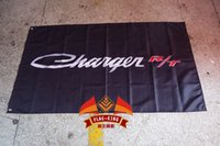 Wholesale Dodge Charger R T car flag CM polyester Charger banner flag king brand orders