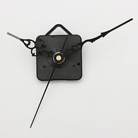 Precio de Relojes de cuarzo piezas-Nuevos manos negro DIY del reloj de pared de cuarzo Movimiento del cabezal de partes del mecanismo de reparación ENVÍO GRATIS