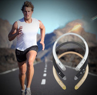 Wholesale New HBS Sport Wireless Bluetooth Headsets Neckband In ear Stereo Earphones For LG Tone Android ios phone wireless Headphones VS HBS900