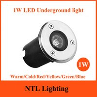 Wholesale New W LED Underground Lamp AC85 V outdoor Waterproof IP65 LED Spot Floor Garden Yard LED inground light CE RoHS freeship