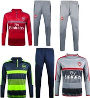 Wholesale Arsenal High Quality New Training Clothes With A Green Shirt Blue Pants Gray Shirt Gray Pants Red Shirt Gray Pants Welcome To Or