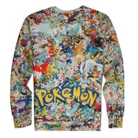 animal rage - Rage on Poke Game Kids Boys Girls Shirt High Quality Cartoon Sweaters Pullover Spring Fall Winter Poke D Print Sweatshirt Hoodies Tops