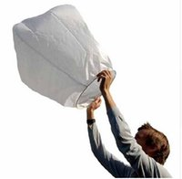 Cheap White Paper Chinese Sky Lanterns Wishing Lamp Balloon for Birthday Wedding Party DHL free shiping 100 pcs lot