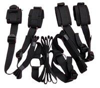Wholesale Secret Under Bed Restraint System cuffs fetish hidden bondage set kit sub dom sex toy