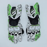 Wholesale FIVE RFX1 RACING Glove Genuine Leather Full Finger moto men Motorcycle Gloves Motorcycle Protective Gears Motocross Guantes