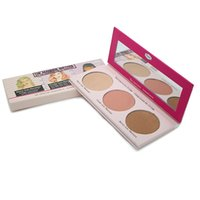 the balm cosmetics - The Manizer Sisters Color Pressed Powder Hot Brand The Balm Cosmetic Makeup Highlight Shimmer Bronzer Face Powder Palette