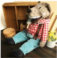 bad baby toys - BRAND NEW IKEA LUFSIG WITH GRANNY PLUSH SOFT TOY BIG BAD WOLF amp GRANDMA STUFFED ANIMAL LITTLE RED RIDING