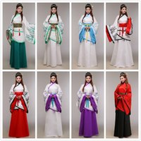 Wholesale Special offer new folk style costume dress Han Qu garment stage costume Cosplay