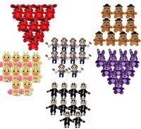 big five animals - Cartoon Five Nights at Freddy s plush toys Pendant FNAF Stuffed Animals Strap cm Children best gift styles HHA1027