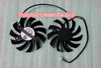 Wholesale NEW original MM Graphics Card fan FOR MSI GTX R6870 R6950 R6790 R6850 R6970 PLD08010S12HH V A Wire