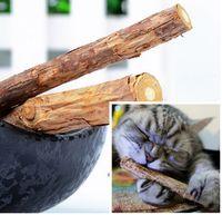 Wholesale Cat Cleaning Teeth Pure Natural Catnip Pet Cat Molar Toothpaste Stick Silvervine Actinidia Fruit Matatabi Cat Snacks Sticks Supplier