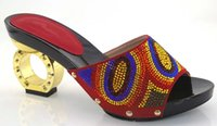 ab high heel shoes - DX16 red Women Shoes Size African Bling Shoes Snake Printed Fabric Multi Colored Crystal Wedding Shoes Ab Rhinestone Heels