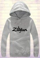 avedis zildjian - Women men Avedis Zildjian cymbals Concert drummer djembe drums LOGO logo zipper sweatshirts