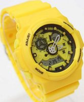 baby g digital watch - Original Box Silicone G Brand LED Digital Sport Watch hiking Designer Baby GA300 Shock Men Watches Drop Shipping