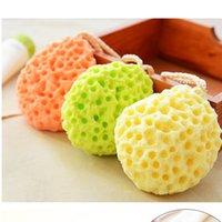 baby cleaning supplies - Bath Cleaning Supplies Baby Bath Sponge Bath Flower Hydrophilic Random Colors Bath Ball