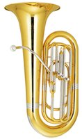 Wholesale 3 Tuba in Bb Three Frontal Height mm with ABS Case Brass Musical instruments EMS