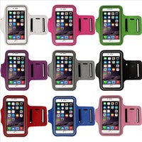 apple travel case - New Sports Gym Running Armband Case movement armlet Protective Cover Arm Band Travel Phone Accessory For inch phone