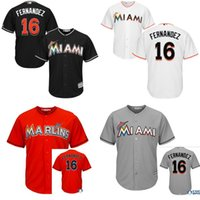 authentic youth jerseys - 2015 New Arrival Kids Miami Marlins Jose Fernandez Jersey Youth Embroidery logo Authentic Baseball Jerseys S XL