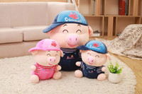 Wholesale 2016 Brand new lovely smart Mcdull pig plush stuffed toy fit for year old kid s Christmas Day gift