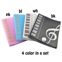 Wholesale Sheet File Paper Documents Folder Holder A4 Size With Pockets color