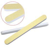 beauty pe - 1PC Double Side Nail Art Buffer Oblong Sponge Sanding Files Nail Polish Strip Nail Shiner Beauty Nail Art Tools