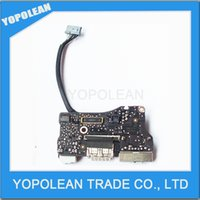 Wholesale Power Audio Board USB DC Power jack For MacBook Air A1466 quot MD761 MD760 A years