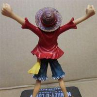 Wholesale One Piece Anime Figuarts Zero Monkey D Luffy PVC Figure the New World Toy cm