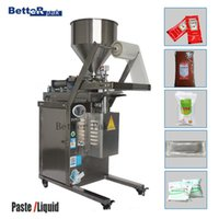 Wholesale DYT950 Automatic Sauce Packaging Machine Sauce packets Soy sauce Vinegar Drink Sheep milk Liquid paste weighing filline machine