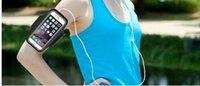 Para Iphone 6 Sports impermeável Corrida braçadeira caso Correr saco Workout Armband Titular pounch para iphone celular Mobile Phone Braço Bolsa Banda