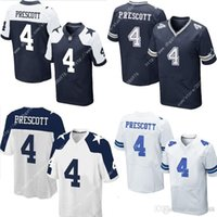 Wholesale Thanksgiving Day New NIK Elite Dallas Dak Prescott Cowboys Stitched Embroidery Logos America Football Men s Jerseys Uniforms Sweatsh