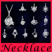twelve south - 925 Sterling Silver Pendant and twelve constellations of the Zodiac Pendant super flash jewelry zircon fashion gifts