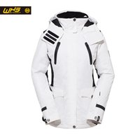 Wholesale WHS Woman Skiing Jacket Winter Outdoor Snow Warm Cotton Dress Lady Warm Coat Waterproof and Windproof Jacket